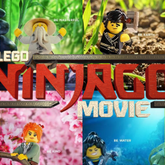 The LEGO NINJAGO Movie Character Posters