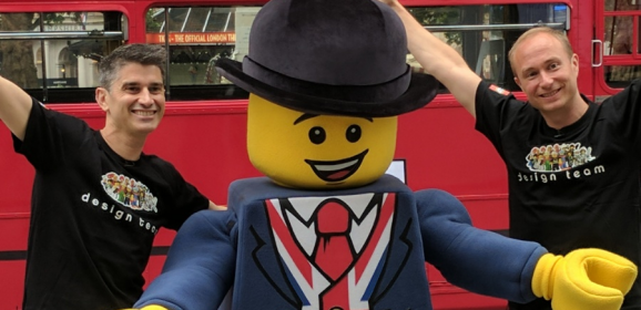 LEGO London Bus Designer Interview