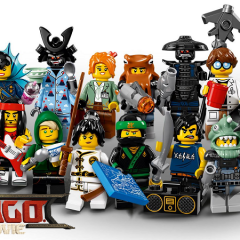 71019: The LEGO NINJAGO Movie Minifigures Review