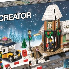 10259: Winter Village Station Set Review