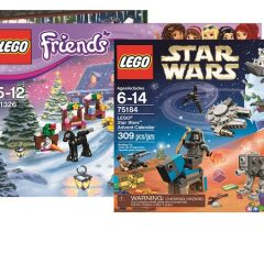 Get Ready To Countdown To Christmas With LEGO Advents