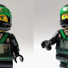 The LEGO NINJAGO Movie Lloyd Minifigure Clock Review