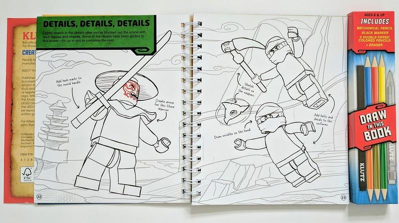LEGO NINJAGO How To Draw Book Review | BricksFanz