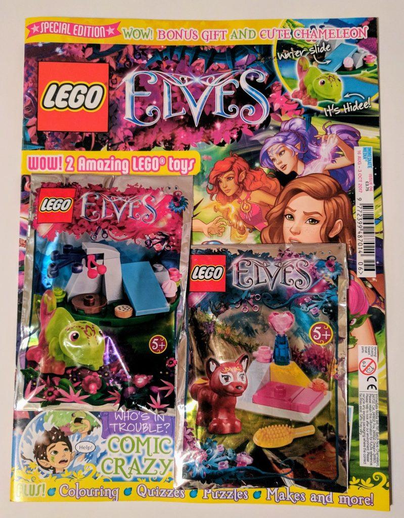mini figure HIDEE MAGAZINE LEGO ELVES