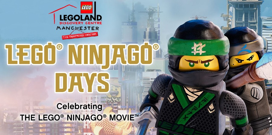 NINJAGO Days At LEGOLAND Discovery Centre Manchester ...