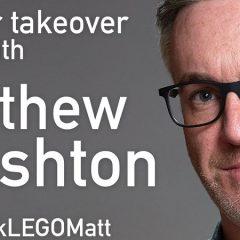 LEGO MASTERS Matthew Ashton Twitter Takeover