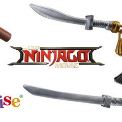 LEGO NINJAGO Movie Life-sized Weapons Review