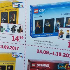 All Toys R Us Minifigure Packs Revealed