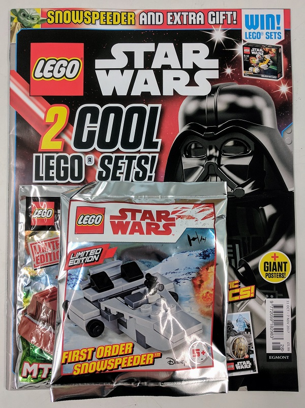 LEGO Star Wars Magazine October Issue | BricksFanz