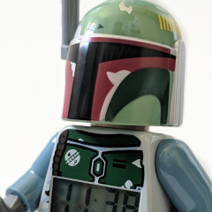 LEGO Star Wars Boba Fett Minifigure Clock Review