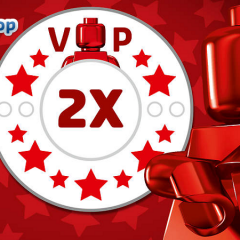 Double LEGO VIP Points Now Available