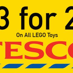 3 For 2 On All LEGO In-store & Online At Tesco