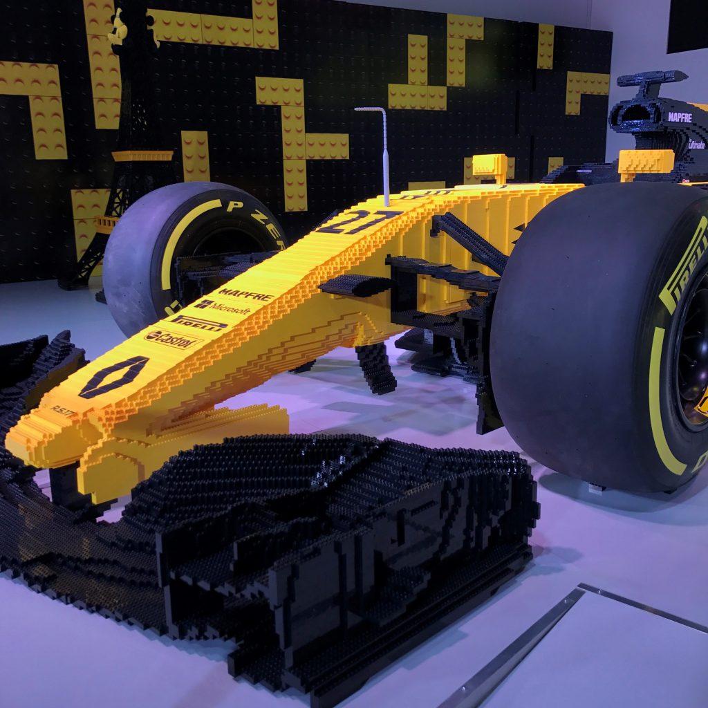 Renault Sport Formula One Team & LEGO Join Forces