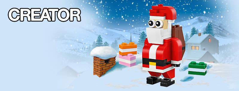 Get A Free LEGO Creator Jolly Santa Set | BricksFanz