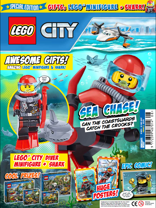 lego city magazine issue 3 out now bricksfanz. Black Bedroom Furniture Sets. Home Design Ideas