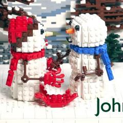 A LEGO John Lewis Christmas