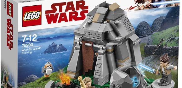 75200: LEGO Star Wars Ahch-To Island Training Set Review