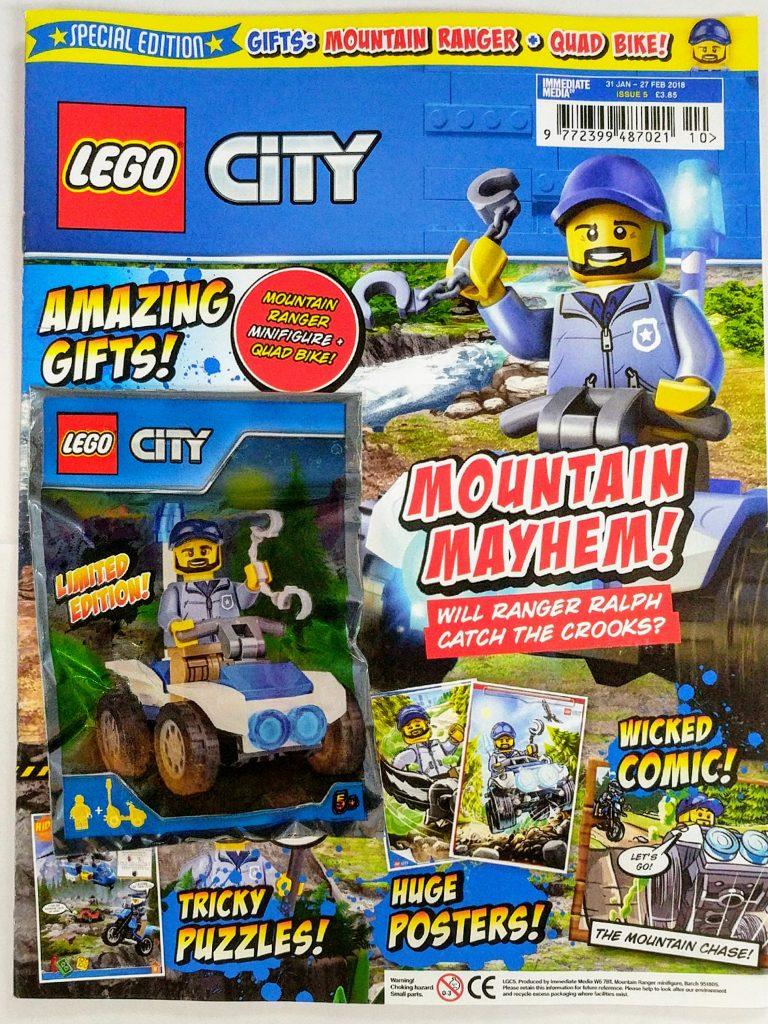 new lego city magazine out now bricksfanz. Black Bedroom Furniture Sets. Home Design Ideas