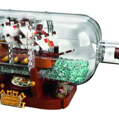 21313: LEGO Ideas Ship In A Bottle Set Review