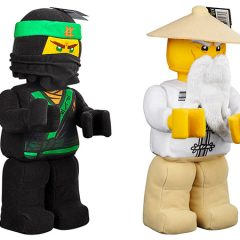 New LEGO NINJAGO Plush Toys On the Way
