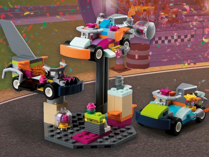 how to make a lego friends car