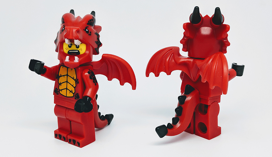 Lego Series 18 Dragon Suit Guy Minifigure