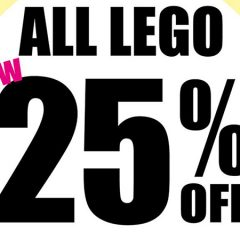 All LEGO Now 25% Off At Toys R Us