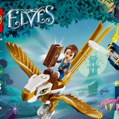 41190: Emily Jones & the Eagle Getaway Elves Set Review