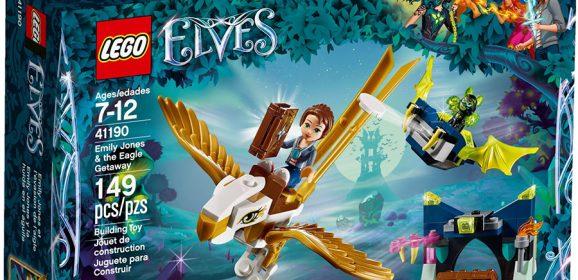 41190: Emily Jones & the Eagle Getaway Elves Set Review
