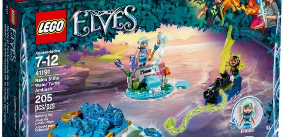 41191: Naida & The Water Turtle Ambush Elves Set Review