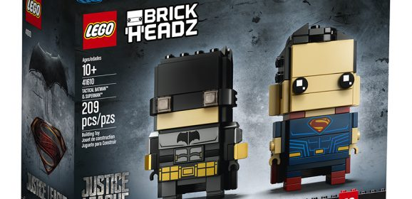 New Justice League BrickHeadz Coming Next Month