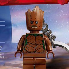 Teen Groot LEGO Minifigure Keychain Review