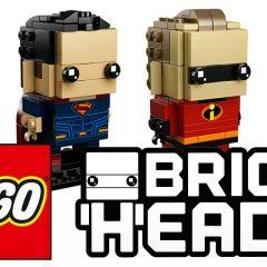 Upcoming New LEGO BrickHeadz Revealed