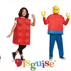 New 2018 LEGO Adult & Kids Costumes
