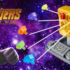LEGO Marvel Completing The Infinity Gauntlet