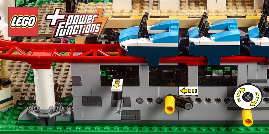 Power Up The LEGO Creator Roller Coaster | BricksFanz