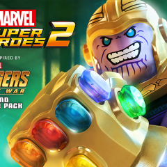 LEGO Marvel 2 Infinity War DLC Trailer