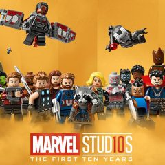 LEGO Celebrates 10 Years Of Marvel Movies