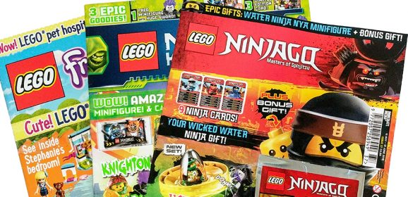 LEGO Magazines June Round-up