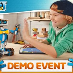 Demo LEGO Boost At The LEGO Store London