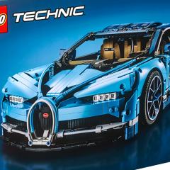 Discover The LEGO Technic Bugatti Chiron