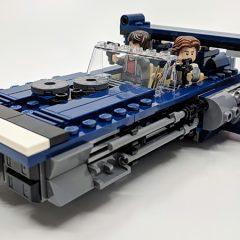 75209: Han Solo's Landspeeder Quick Look