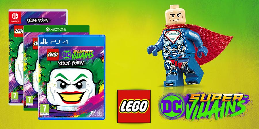 LEGO DC Super-Villains Exclusive Minifigure Details ...