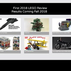 Ten Projects Qualify For Next LEGO Ideas Review