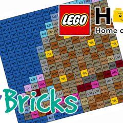 Record Breaking LEGO Mosaic Build Begins