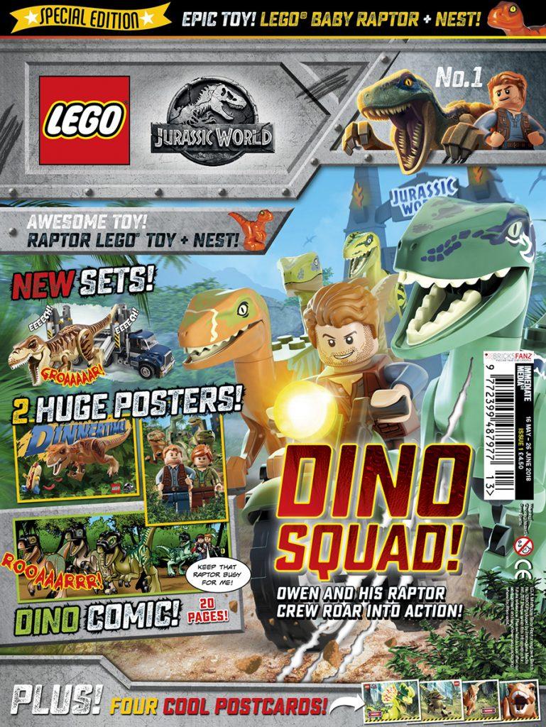 LEGO Jurassic World Magazine Preview | BricksFanz