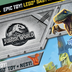 Last Chance To Pick Up LEGO Jurassic World Magazine
