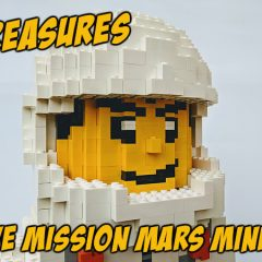 LEGO Treasures: Massive Mission Mars Minifigure