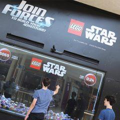 Interactive LEGO Star Wars Billboard Arrives In The UK