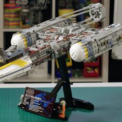 LEGO Star Wars UCS Y-Wing Designer Video